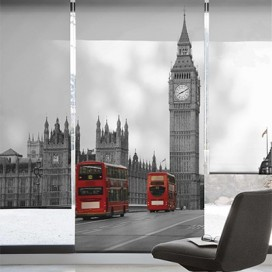Estor Enrollable BIG BEN de Zebra textil