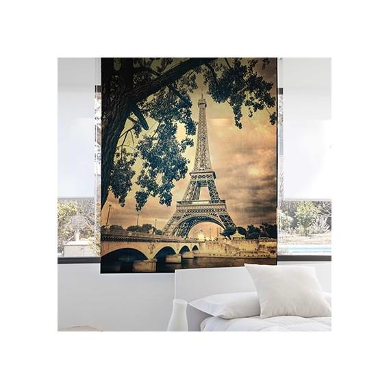 Estor Enrollable PARIS de Zebra textil