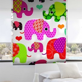 Estor Enrollable ELEPHANTS de Zebra textil