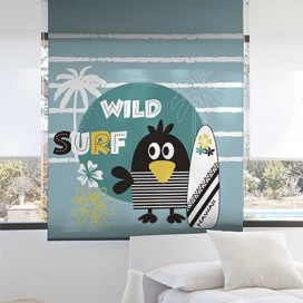 Estor Enrollable SURF de Zebra textil