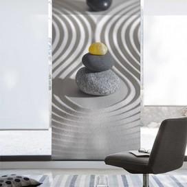 Estor Enrollable ONDAS de Zebra textil
