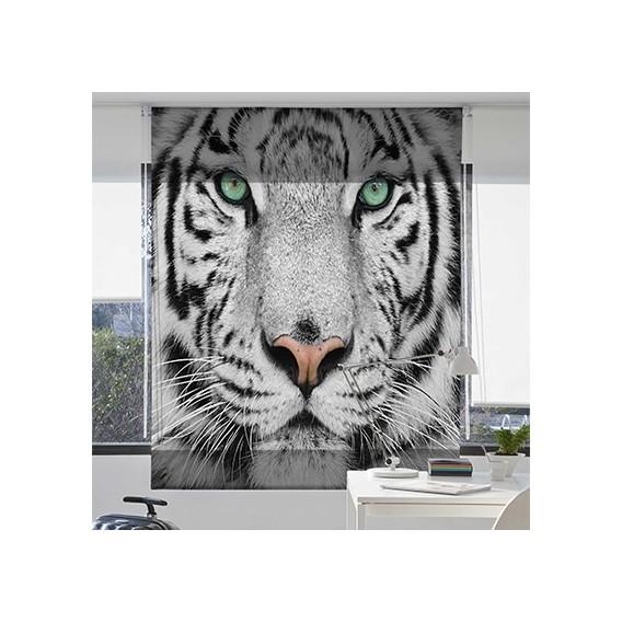 Estor Enrollable TIGRE de Zebra textil