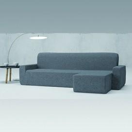 Funda sofá Bielástica chaise longue mod.- VIENA