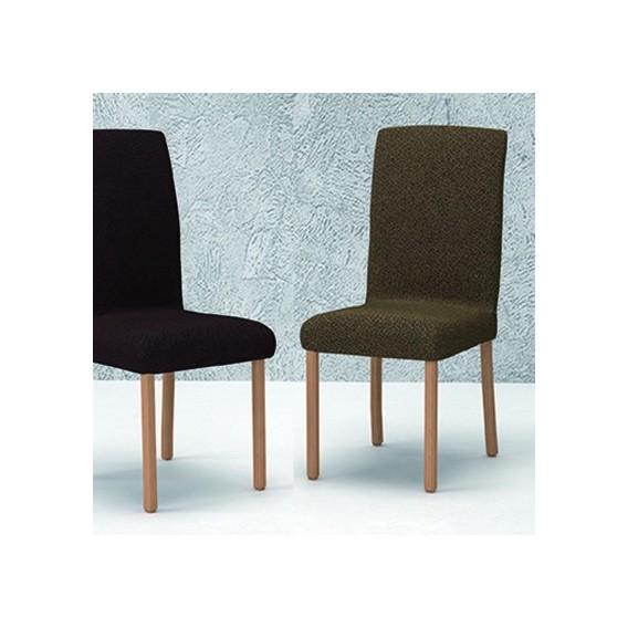 Funda bielástica silla con respaldo mod.- VIENA