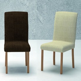 Funda elástica silla con respaldo mod.- TANIA