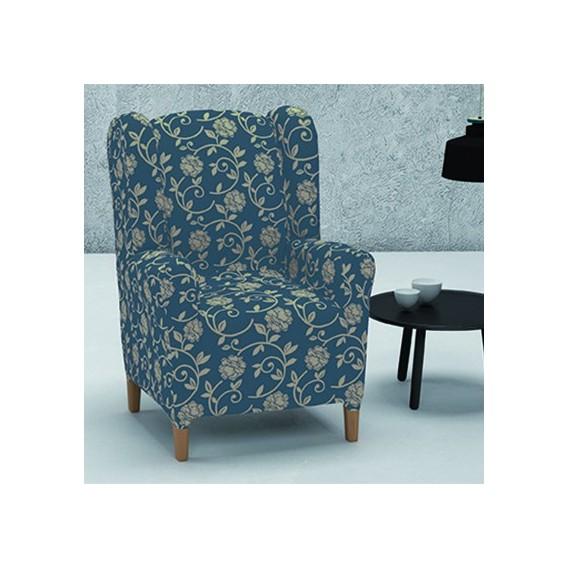 Funda el stica sill n orejero mod acapulco v hogar - Fundas elasticas para sillones ...
