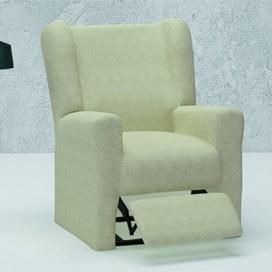 Funda elástica sillón relax orejero mod.- MIRO