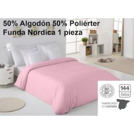 Funda Nórdica lisa Poliéster/Algodón 50/50 COMBI