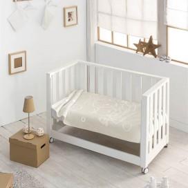 Manta infantil Gofrada 6638 CONEJO y GATO