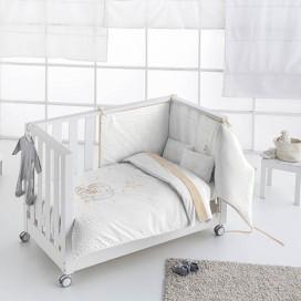 Kit Bebés Nórdico + Protector 2376 OSITA LUNA