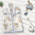Saco de bebé estampado 6379 OSITOS NUBE