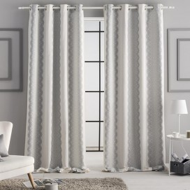 Cortina jacquard ojales CHANTILLY by JVR