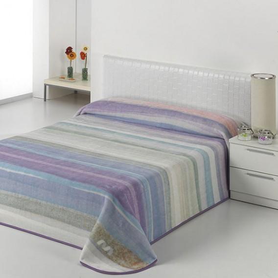 Manta Estampada HARMONY A18 de Textiles Mora V.Hogar