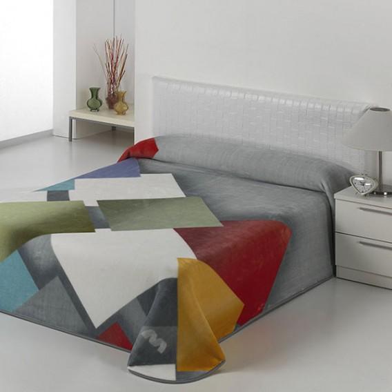 Manta Estampada HARMONY A19 de Textiles Mora V.Hogar
