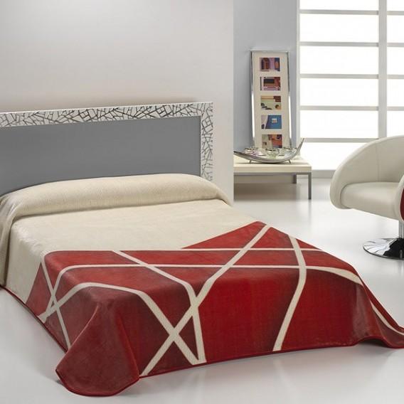 Manta Estampada HARMONY B42 de Textiles Mora V.Hogar