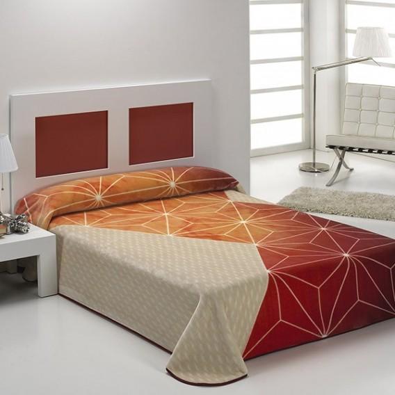Manta Estampada HARMONY B44 de Textiles Mora V.Hogar