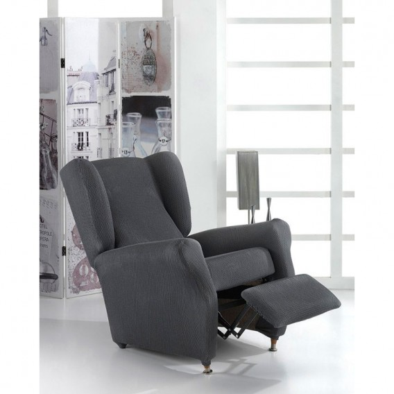 Funda bielástica sillón relax orejero TORONTO By Belmarti