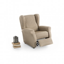 Funda bielástica sillón relax orejero CANADA By Belmarti