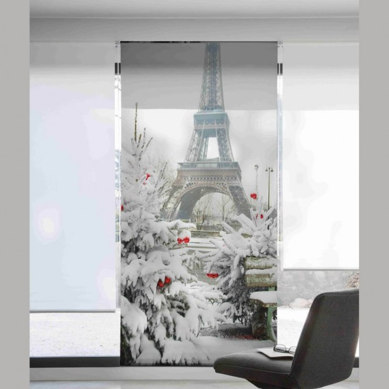 Estor Digital EIFFEL NEIGE U-510 by Zebra Tex. V.Hogar
