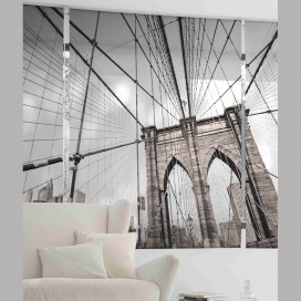 Estor Digital BROOKLYN U-553 by Zebra Textil para oficinasogar