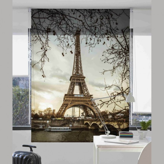Estor Digital EIFFEL U-563 by Zebra Tex. V.Hogar