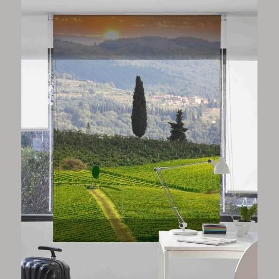 Estor Digital CAMPO P-3040 by Zebra Textil para el hogar