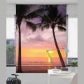 Estor Digital PLAYA P-3051 de Zebra Textil para las ventanas