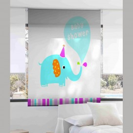 Estor Digital Infantil ELEPHANT I-1085 by Zebra Tex. V.Hogar