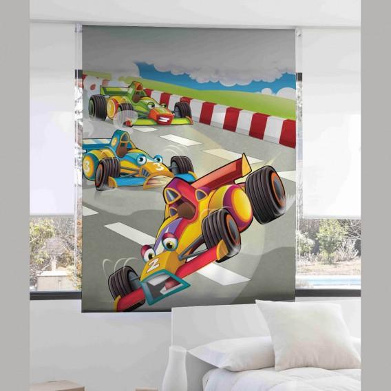Estor Digital Infantil CRAZY RACE I-2062 by Zebra Tex. V.Hogar