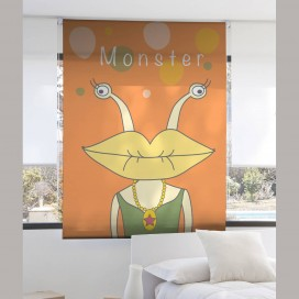 Estor Digital Infantil MONSTER I-2127 by Zebra Tex. V.Hogar