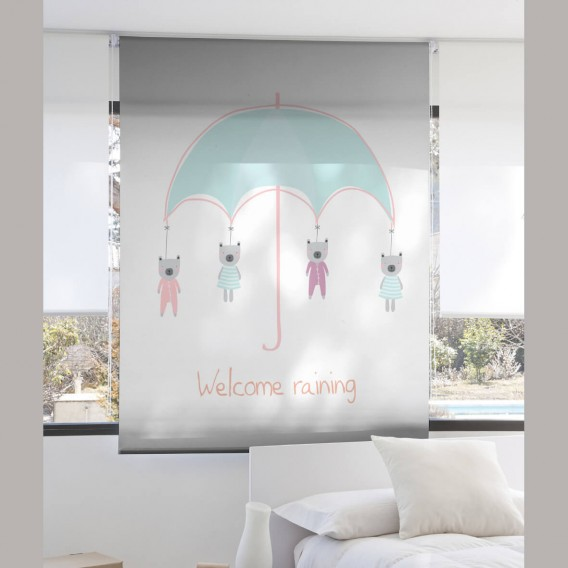Estor Digital Infantil WELCOME I-2144 by Zebra Tex. V.Hogar