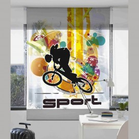 Estor Digital SPORT 1 J-2515 by Zebra Tex. V.Hogar