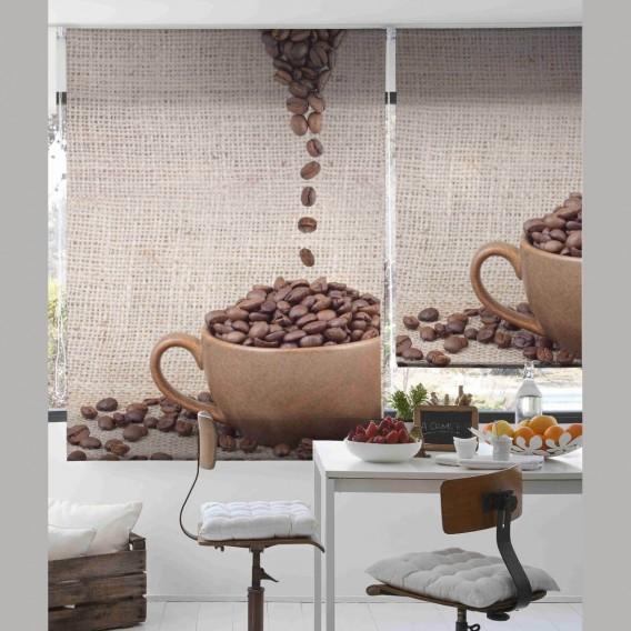Estor Digital GRANOS CAFÉ C-841 by Zebra Tex. V.Hogar