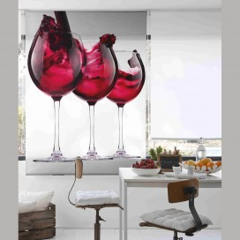 Estor Digital VERRE DE VIN C-1175 by Zebra Tex. V.Hogar