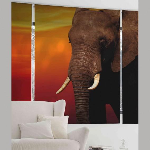 Estor Digital ELEPHANT A-107 by Zebra Tex. V.Hogar