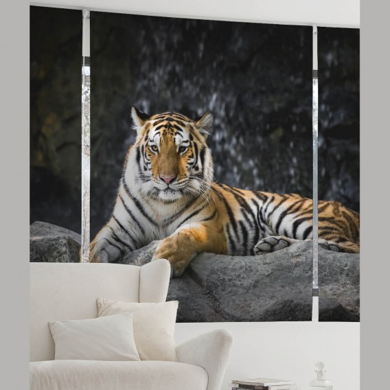 Estor Digital TIGRE A-224 by Zebra Tex. V.Hogar