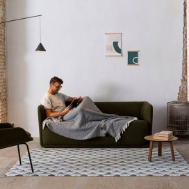 Alfombra KYOTO modelo FB.02 D/H45 de Textils Mora V.Hogar