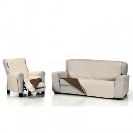 Funda cubre sofá acolchada de Belmarti en VistiendoHogar