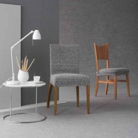 Funda elástica silla con respaldo LETRAS By Zebra Textil V.Hogar