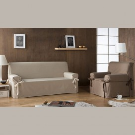 Funda de sofá con lazos BERET By Zebra Textil VistiendoHogar