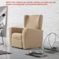 Funda elástica sillón relax ANDROMEDA By Zebra Textil V.Hogar