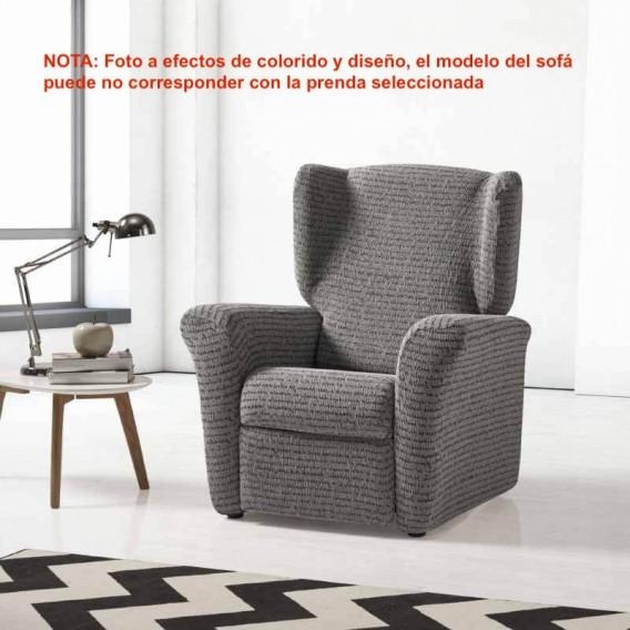 Funda elástica sillón orejero LETRAS By Zebra Textil V.Hogar