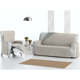Funda cubre sofá Acolchada Reversible MISTIC de Eysa V.Hogar