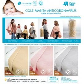 Cole-Manta con tratamiento Anti Covid19