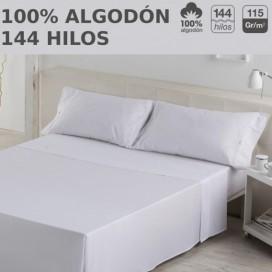 Juego de sábanas LISOS HOSTELERIA. 100% algodón. Es-Tela