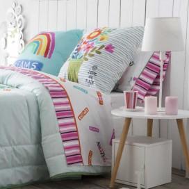 Juego sábanas estampadas IMAGINE JVR para la cama
