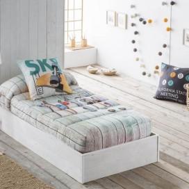 Edredón ajustable 12 SKATE JVR para vestir la cama