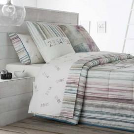 Juego sábanas estampadas GRAFIC JVR para la cama