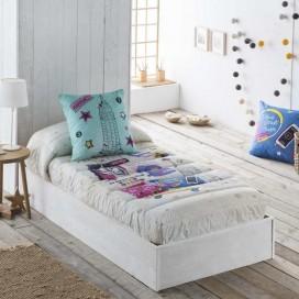 Edredón ajustable 12 CITY JVR para vestir la cama