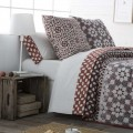Juego sábanas estampadas ETNIC JVR para la cama